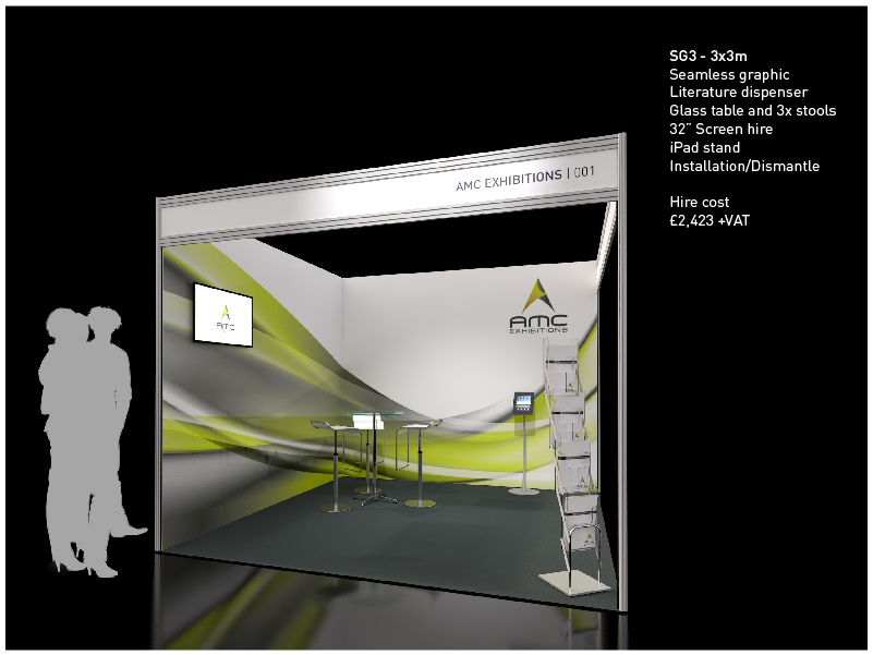 Exhibition Stand Hire Prices : Shell scheme exhibition stand create impact