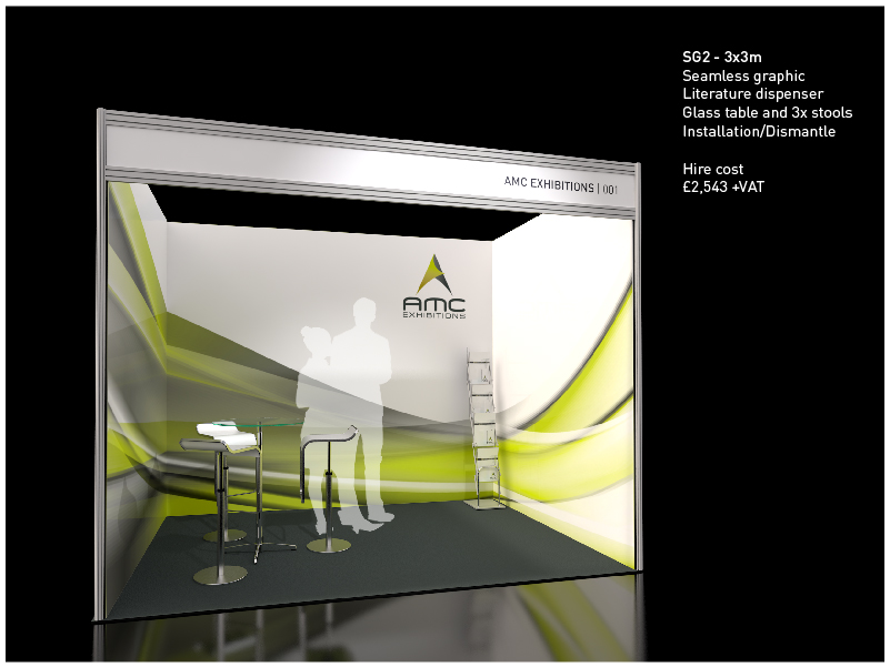 Shell Scheme Exhibition Stands : Shell scheme exhibition stand create impact