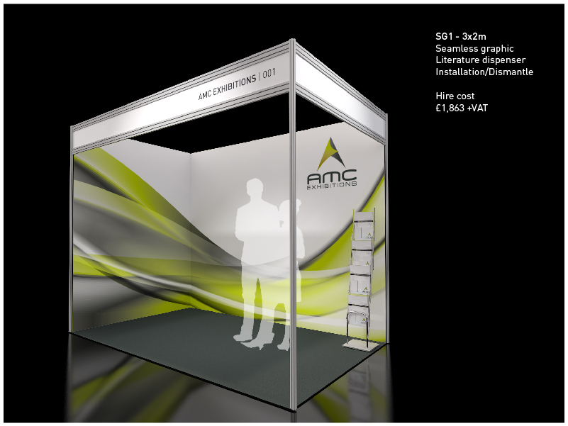 Modular Exhibition Stand For : Shell scheme exhibition stand create impact