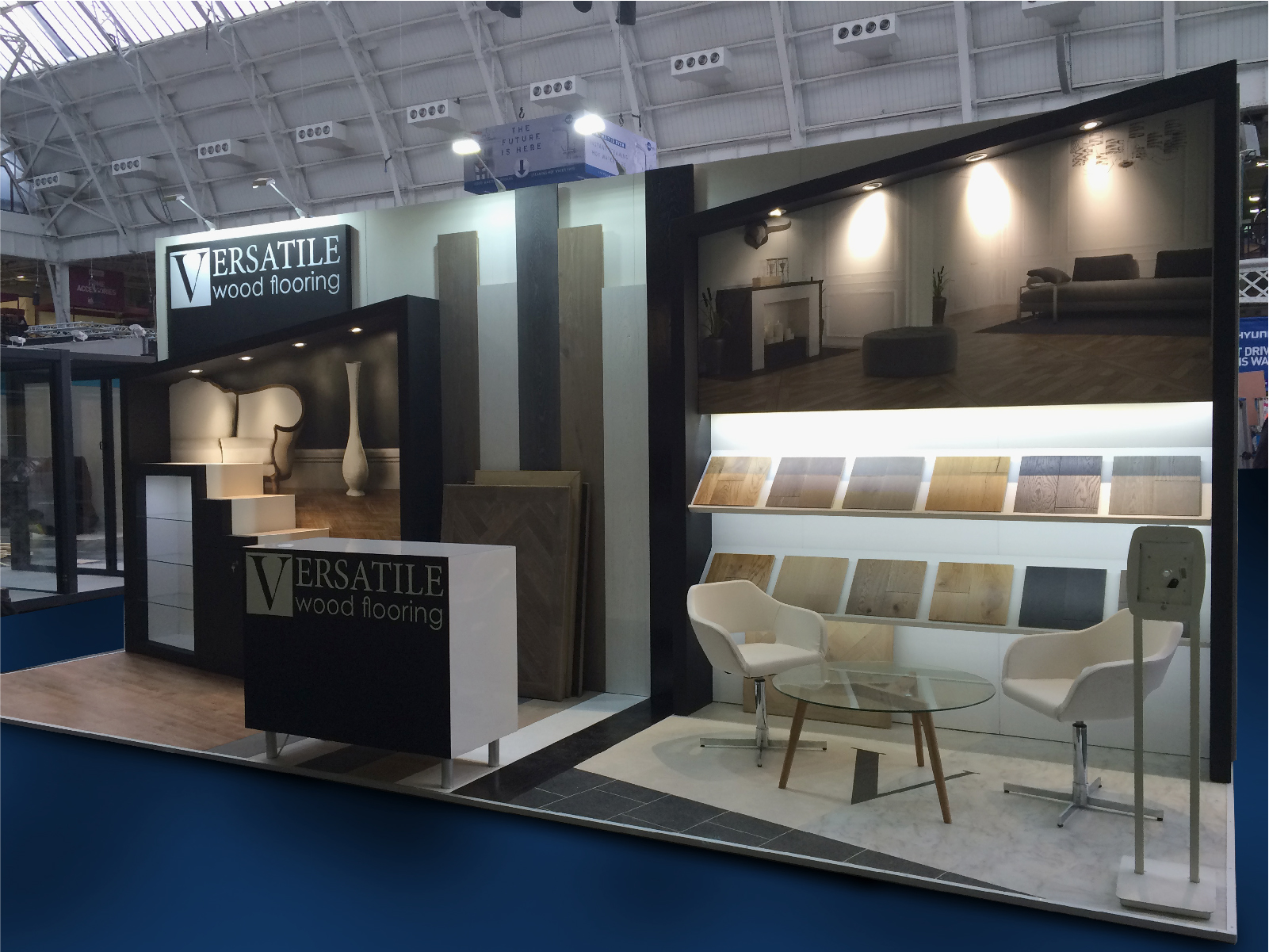 Exhibition Stand Lighting Home : Ideal home show exhibition stands event logistics